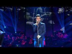 4 Marzo - Rai Uno - Marco Mengoni canta splendidamente Tu non mi basti mai di Lucio Dalla.