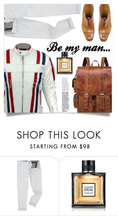 """Be my man..."" by samra-bv on Polyvore featuring Minimum, Guerlain, men's fashion and menswear"