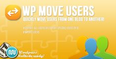WP Move Users . This Wordpress Plugin allows you to quickly move users from one Wordpress site to another. Its Wordpress Multisite ready so the plugin even works on entire