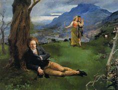 Beethoven in a Landscape (Adolfo Lozano Sidro - )