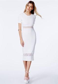 ec7f6e1bb http   www.missguidedus.com catalog product view id 119114 s jalisa-mesh-panel-midi- dress category 4