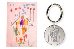Turn her child's artwork into a timeless keepsake like this sterling silver keychain. $50 with code GOODHOUSEKEEPING, kidzcandesign.com