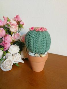 Middle Cactus Uncinetto - handmade by crochet Cactus, In Natura, Lana, Etsy, Handmade, Goal, Facts, Hearts, Chrochet