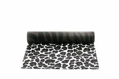 my favorite double sided table runner is this animal print, great for so many DIY projects or to really take your gift wrapping to the next level add it to a solid color wrapped gift Picnic Blanket, Outdoor Blanket, Table Runners, Wraps, Diy Projects, Gift Wrapping, Animal, My Favorite Things, Color