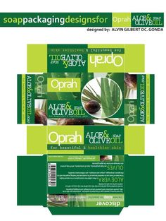 Designer : Alvin Gilbert Dc. Gonda abugonda@yahoo.com  Soap Packaging.