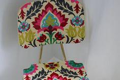 Como transformar cadeiras em artigos de decora��o utilizando tecido