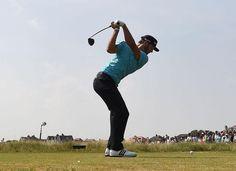 Dustin Johnson 2014 British Open Second Round