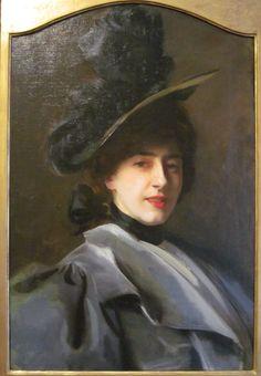 Mme. Flora Reyntiens - john singer sargent