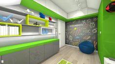 Wystrój wnętrz - Pokój dziecka dla dziewczynki - pomysły na aranżacje. Projekty…