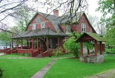 The home of Gene Stratton Porter, author of Freckles and The Girl of Limberlost