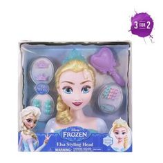 Buy Disney Frozen Elsa Styling Head at Argos.co.uk, visit Argos.co.uk to shop online for Make-up and beauty toys