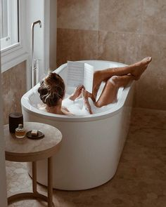 Likes, 104 Comments - Lisa Hamilton Relaxing Bath, Jolie Photo, Bath Time, Hygge, No Time For Me, Bubbles, Bathtub, In This Moment, Decoration