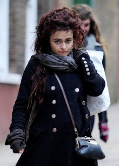 Helena Bonham Carter Photos - Helena Bonham Carter Grocery Shops - Zimbio