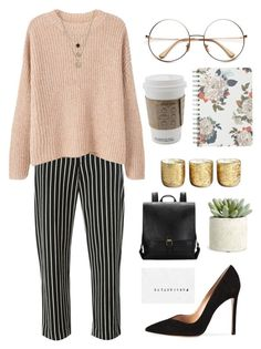 """""""Job Interview"""" by mrstilinski ❤ liked on Polyvore featuring Isabel Marant, Gianvito Rossi, MANGO, LowLuv, Illume, Fat Face and Allstate Floral"""