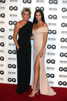 Yolanda Foster et Gigi Hadid aux GQ Men of the Year Awards 2016