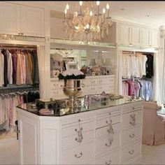 There's Never Too Much Closet Space...