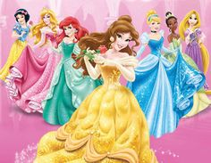 All Disney Princesses, Disney Princess Drawings, Disney Rapunzel, Disney Princess Pictures, Disney Princess Dresses, Barbie Princess, Princess Girl, Disney Villains, Disney Girls