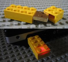 The lego flash drive