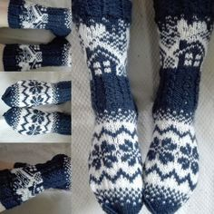 Marimekko, Knitting Socks, Mittens, Ravelry, Projects To Try, Pattern, Handmade, Slipper, Tights