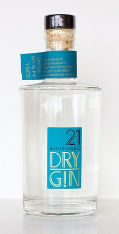21 Bodensee Dry Gin - Gin Nerds