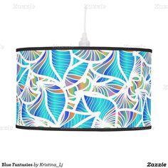Blue Fantasies Pendant Lamp