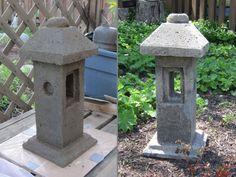 """Small pillar, 18"""" tall. Mine."""