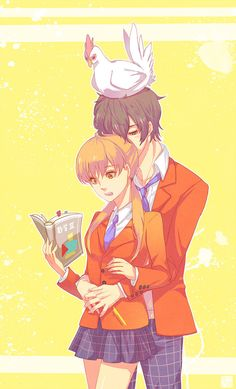 Tonari no Kaibutsu-kun :) (Great Manga! And pretty good anime!)