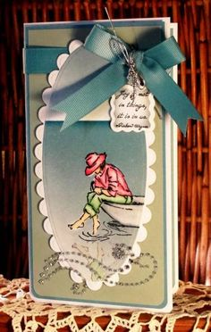 Summer by the Sea for QFTD 49 Karen by AudreyAnn - Cards and Paper Crafts at Splitcoaststampers