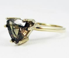 Color Changing Garnet Gold Ring made to size