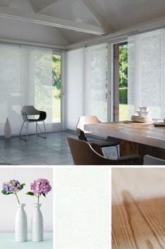 Need blinds for large windows or patio doors? Shop our wide range of panel blinds, which can also be used as room dividers or even wardrobe doors. Patio Railing, Patio Wall, Wood Patio, Outdoor Curtains For Patio, Patio Door Curtains, Blinds For Patio Doors, Blinds For Large Windows, Blinds For French Doors, White Patio Furniture