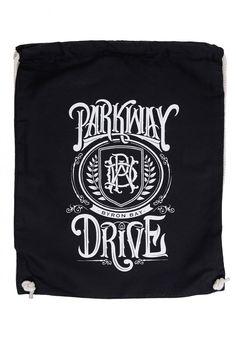 Parkway Drive - Crest Logo Drawstring - Rucksack im Impericon Shop - Innerhalb…