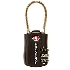 TSA Approved Travel Combination Cable Luggage Locks for S...