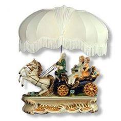 Capodimonte+Lamps   Capodimonte Carriage Lamp