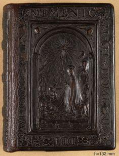 Italian cut leather binding, 15th century