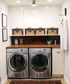 Laundry has come a long way from the days when your great grandmother did her washing in a bucket with a board, but that doesn't mean we are