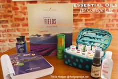 Essential Oils for College List and the rest of the college checklist