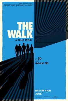 Poster from the movie The Walk.