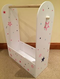 Kids children's dress up rail, storage, costume hanging rail