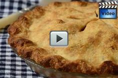 The Apple Pie, with its two rounds of pastry enclosing slices of cinnamon sugared apples, is a favorite dessert in North America. From Joyofbaking.com With Demo Video