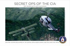 2017 Secret Ops of the CIA Calendar -- Spy Museum