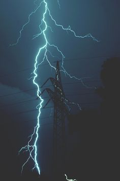 "modernambition: ""Lightning Strike   MDRNA   Instagram"" - relax, storm, nature, lightning,"