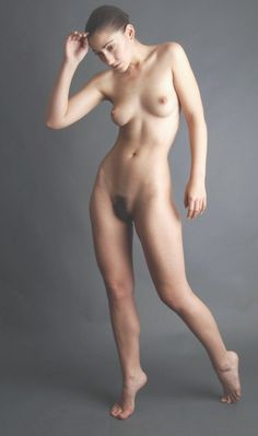 Girl art model nudist