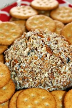 Family Favorite Cheeseball Recipe ~ Looks like it could easily be divided to make less for a smaller family.