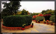 Garden of Five Senses is a huge park located in Saidul Ajaib village, which is near the Mehrauli area in New Delhi. It was developed by Delhi Tourism Transportation Development Corporation (DTTDC), which comes under the Government of India. This park was inaugurated in February 2003, and since then, it is famous for organising festivals, cultural programmes, food festivals and Dandiya festivals.