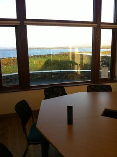View from the ultimate boardroom. One remote controls everything #control4 via Future Homes @FutureHomesCork