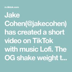 Jake Cohen(@jakecohen) has created a short video on TikTok with music Lofi. The OG shake weight tbh. #tutorials #easyrecipes Questions To Get To Know Someone, Getting To Know Someone, Hospital Bag Essentials, Conversation Starters, Dating Tips, Love And Marriage, First Time, Easy Meals, Thankful
