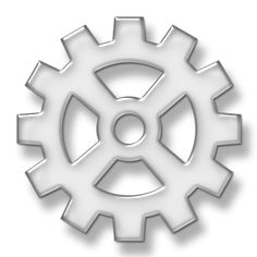 Wide Spoke Gear Icon #076031 » Icons Etc Philippine Map, Gears, Symbols, Icons, Polyvore, Gear Train, Glyphs