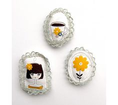 sweet brooches