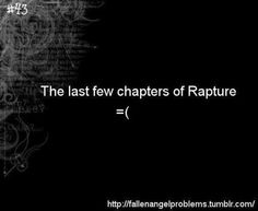 I finished reading it yesterday and I have been torn up ever since. The last few chapters were the worst ever, it was so beautiful and perfect but so sad it killed me. Fallen Saga, Fallen Series, I Want To Cry, Make You Cry, Lauren Kate, Tears In Eyes, John Green Books, Divergent Series, World Of Books