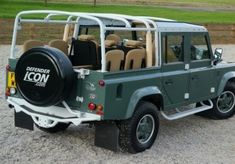 130 extra long wheel base Falcon soft backs with various seating, engine, gear box, and interior enhancements. Defender 110, Land Rover Defender, Adventure Car, Best 4x4, Land Rover Discovery, Range Rover, Land Cruiser, Landing, Jeep